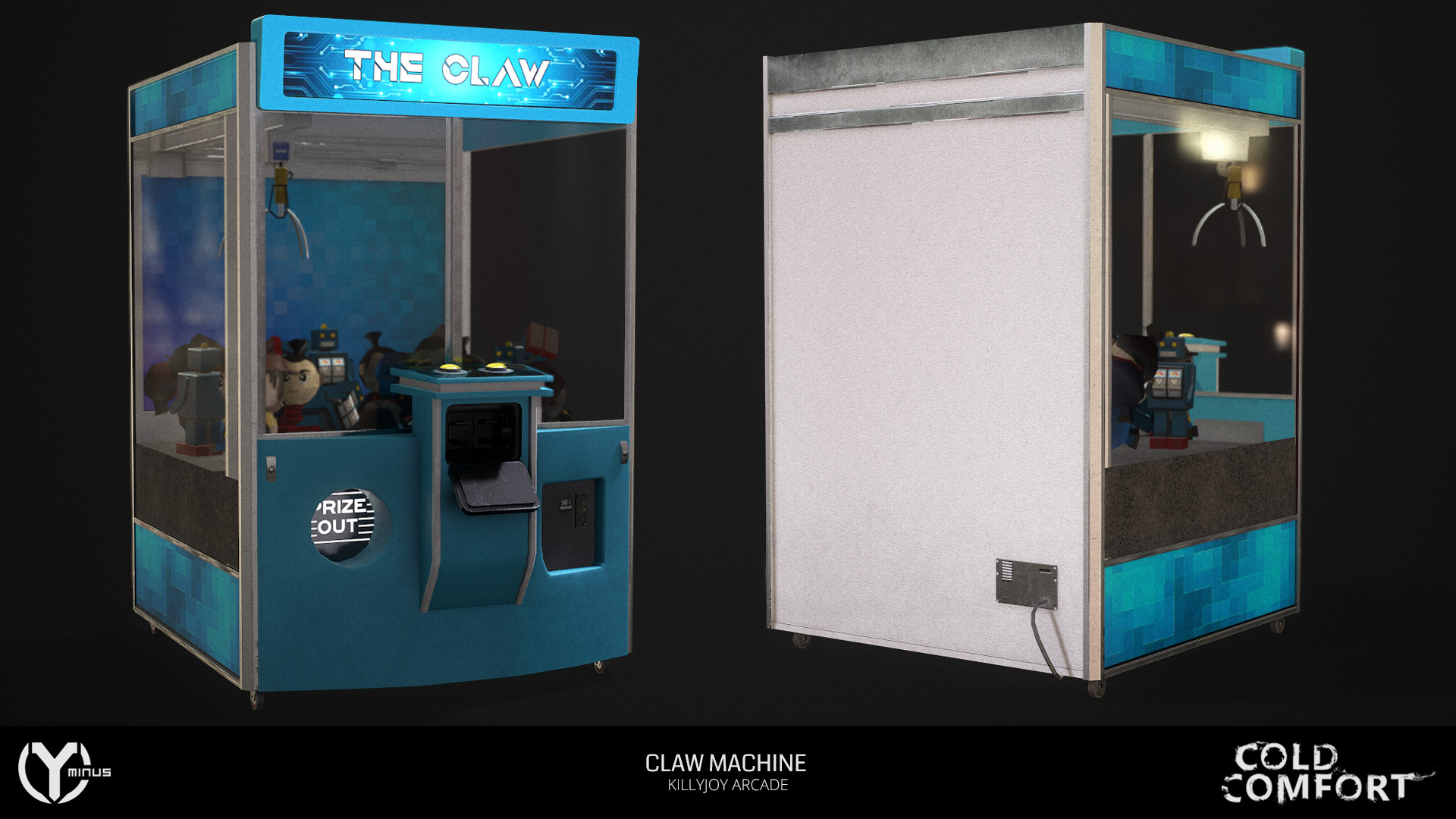 Martin giles claw render 001