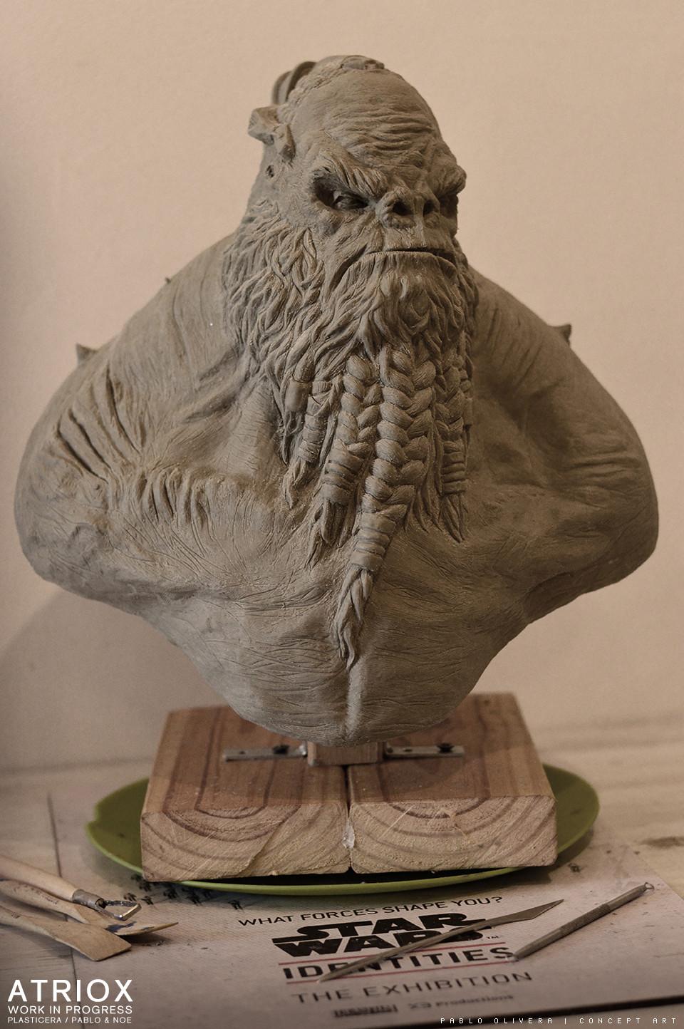 Pablo olivera atriox sculpture plasticera by pablo olivera 04