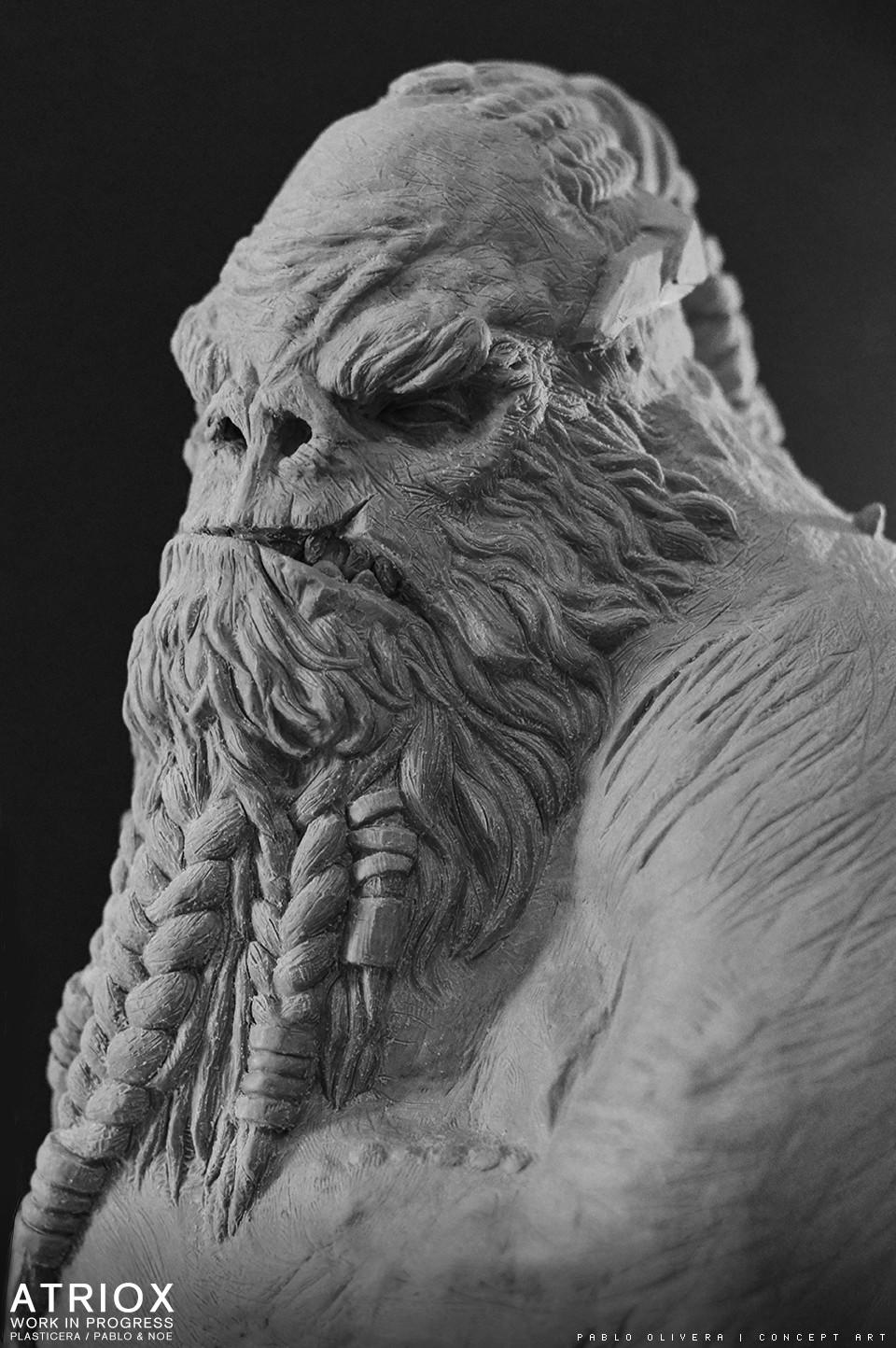 Pablo olivera atriox sculpture plasticera by pablo olivera 01