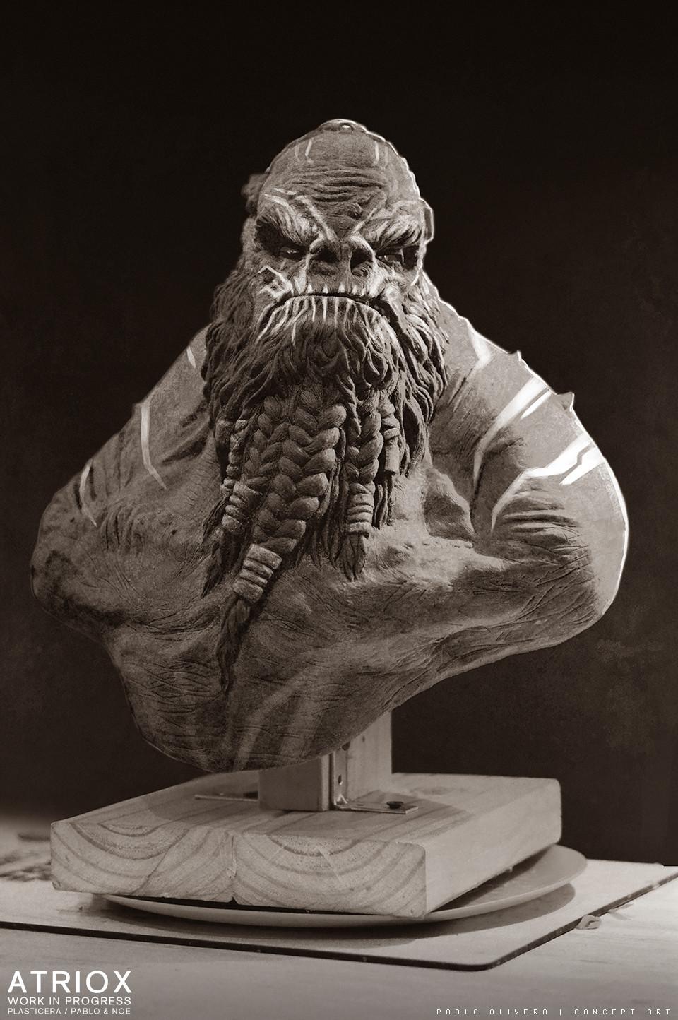 Pablo olivera atriox sculpture plasticera by pablo olivera 05