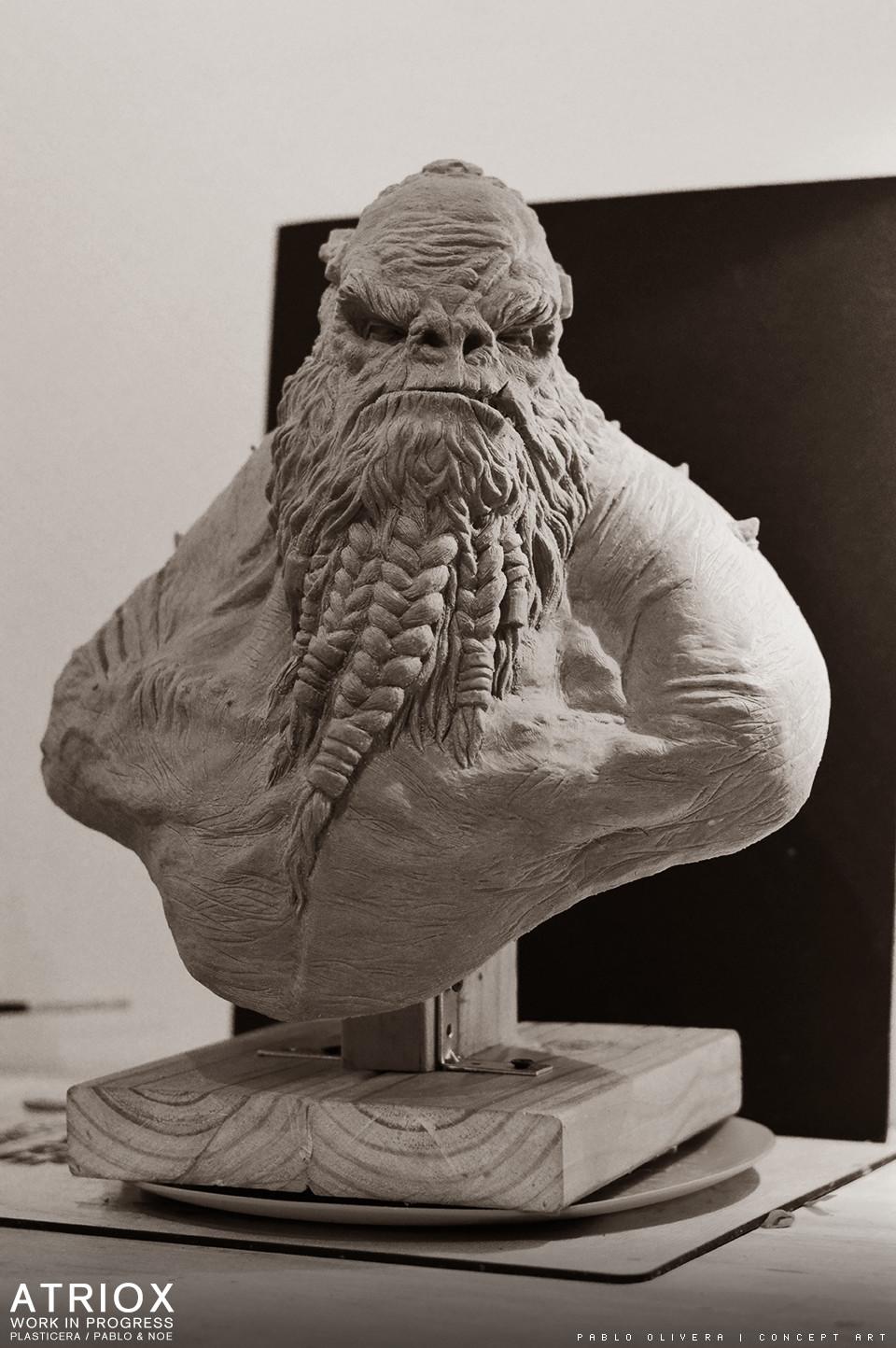 Pablo olivera atriox sculpture plasticera by pablo olivera 07