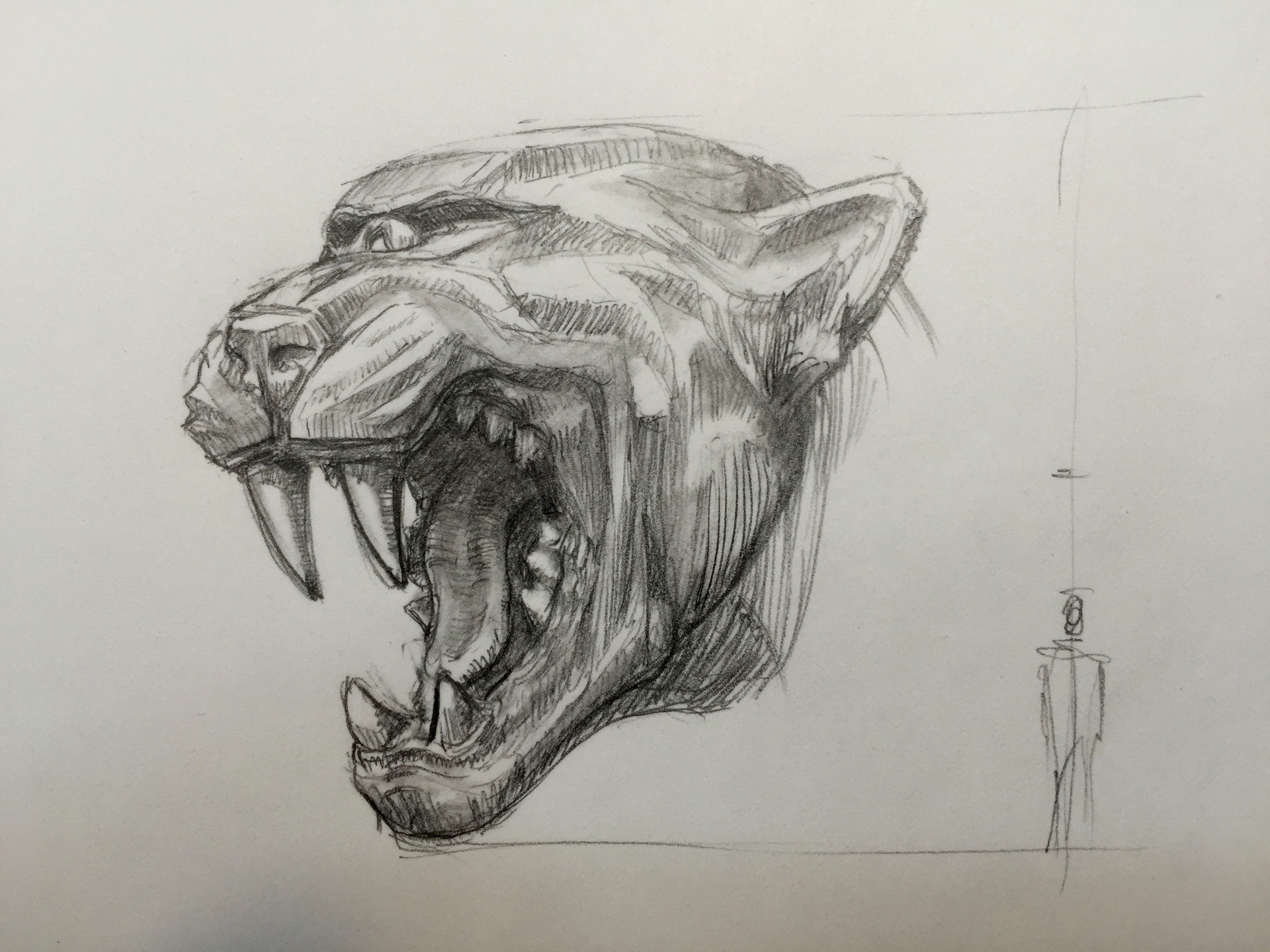 Artstation Jumanji Jaguar Head Statue Concept Simon