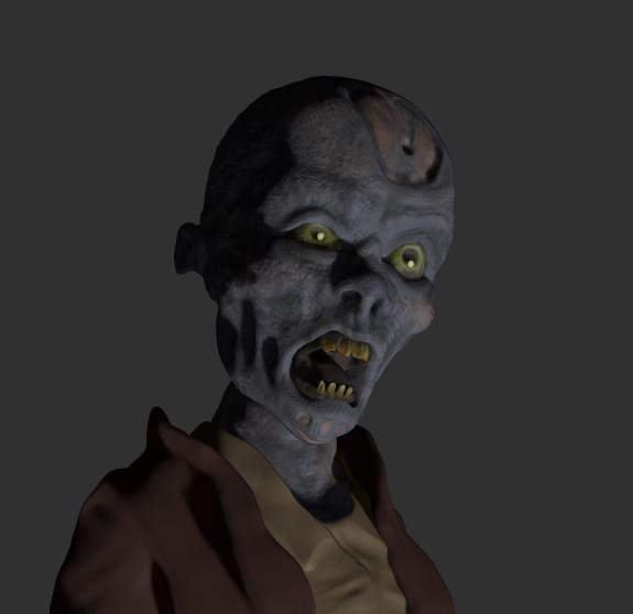 WIP: Zombie Child
