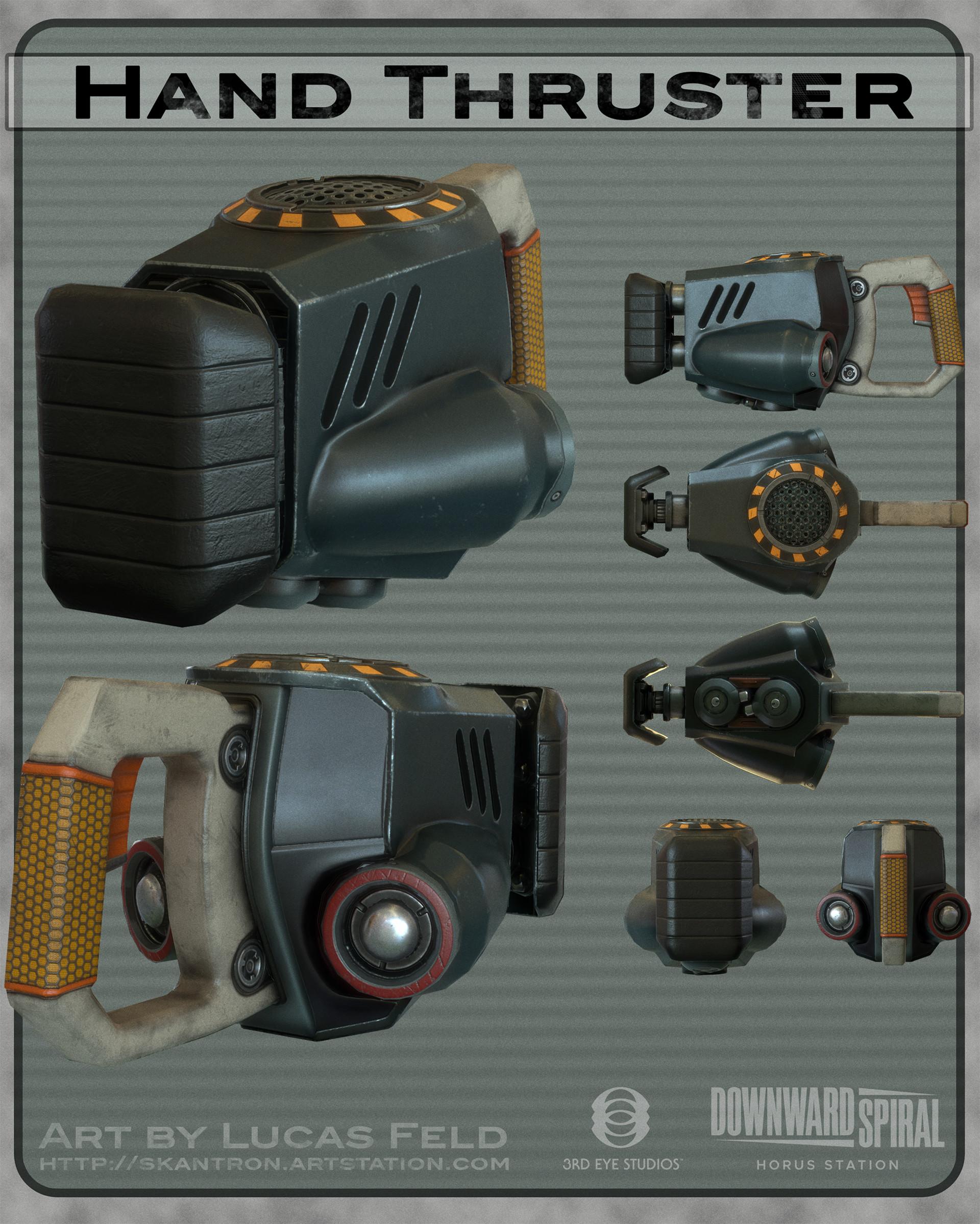 Lucas feld weaponsprex handthruster