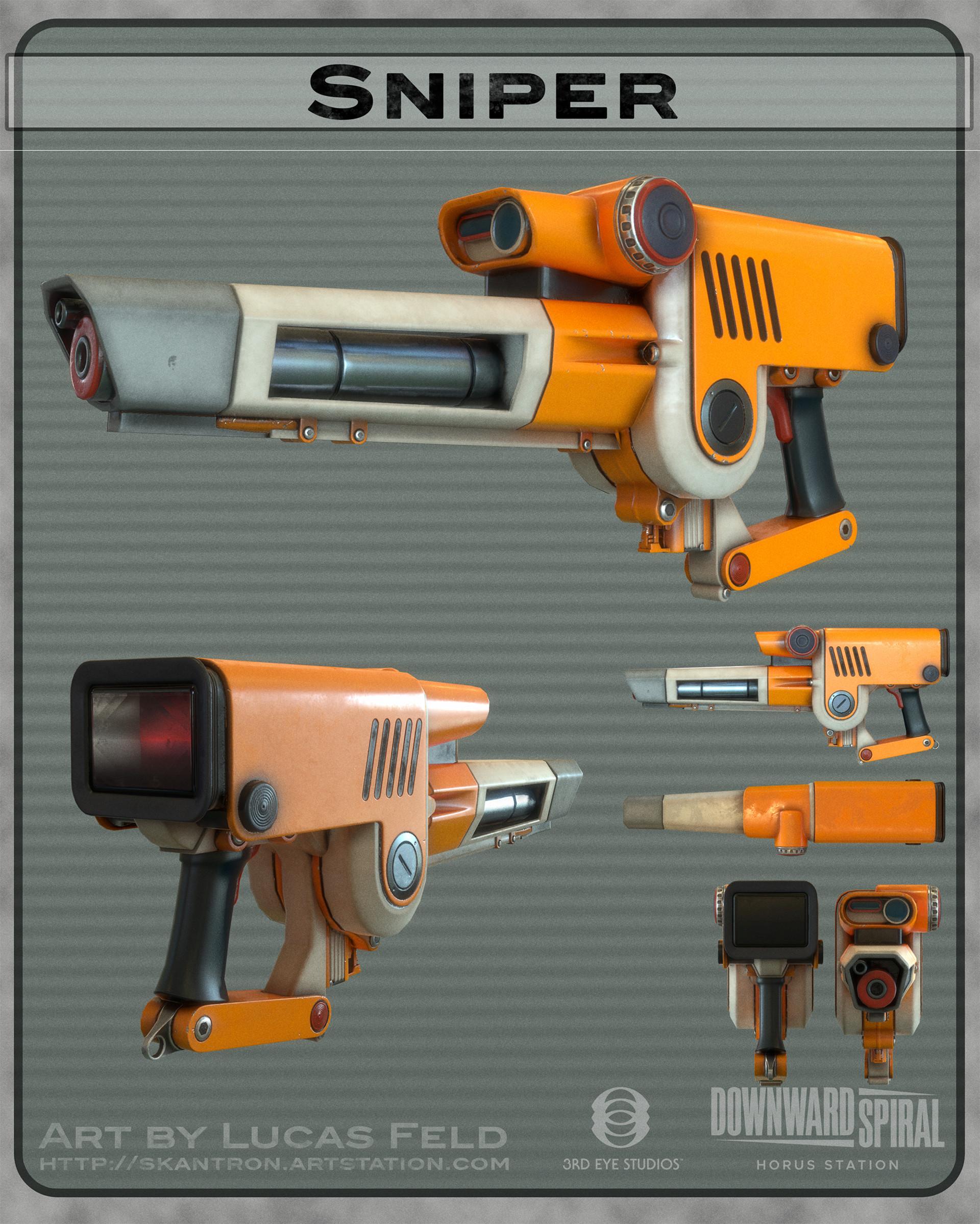 Lucas feld weaponsprex sniper