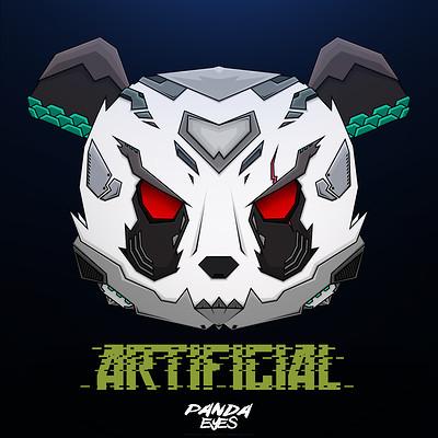 Alex x x panda eyes artificial as