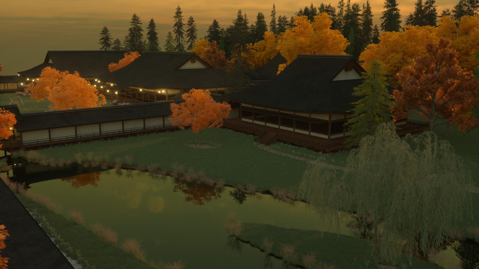 Start of the lake