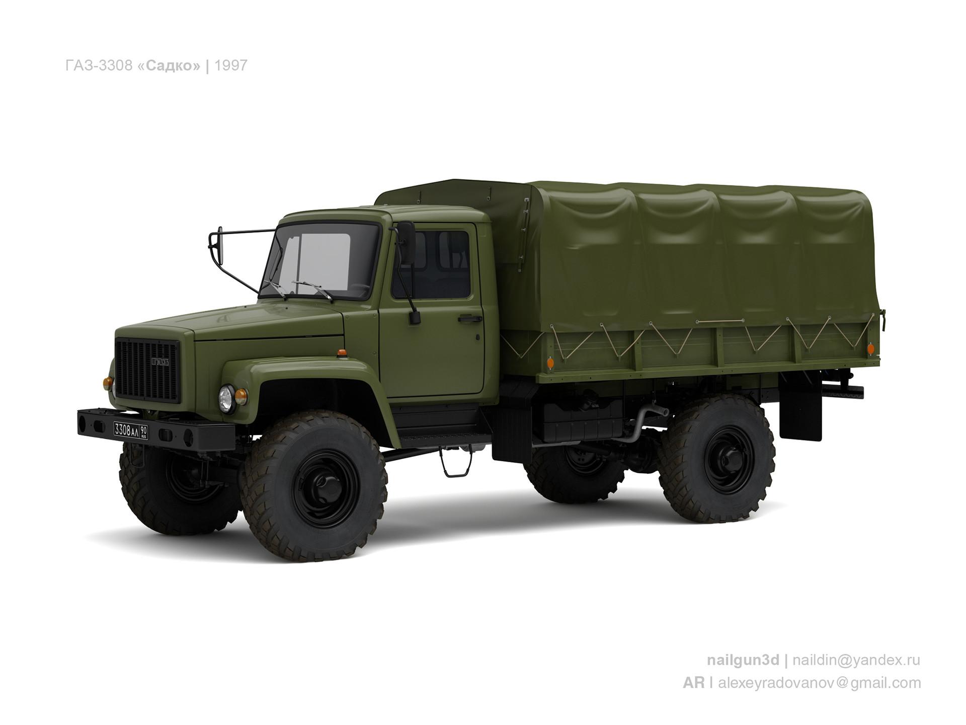 Nail khusnutdinov ussr gaz 3308 sadko 1997 0