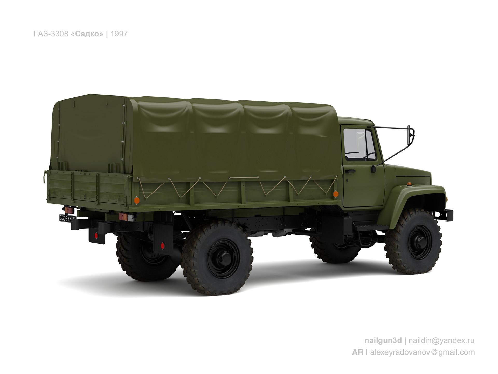 Nail khusnutdinov ussr gaz 3308 sadko 1997 1