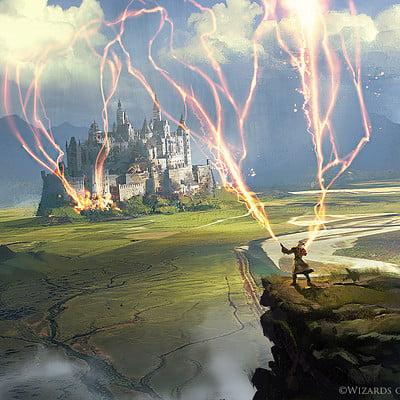 Greg rutkowski wizard s lightning 1500