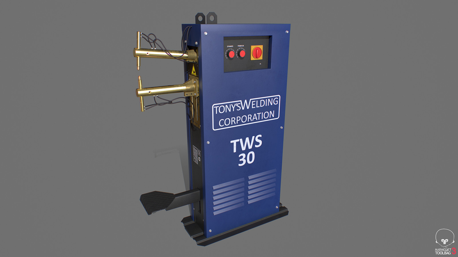 Contact welding device