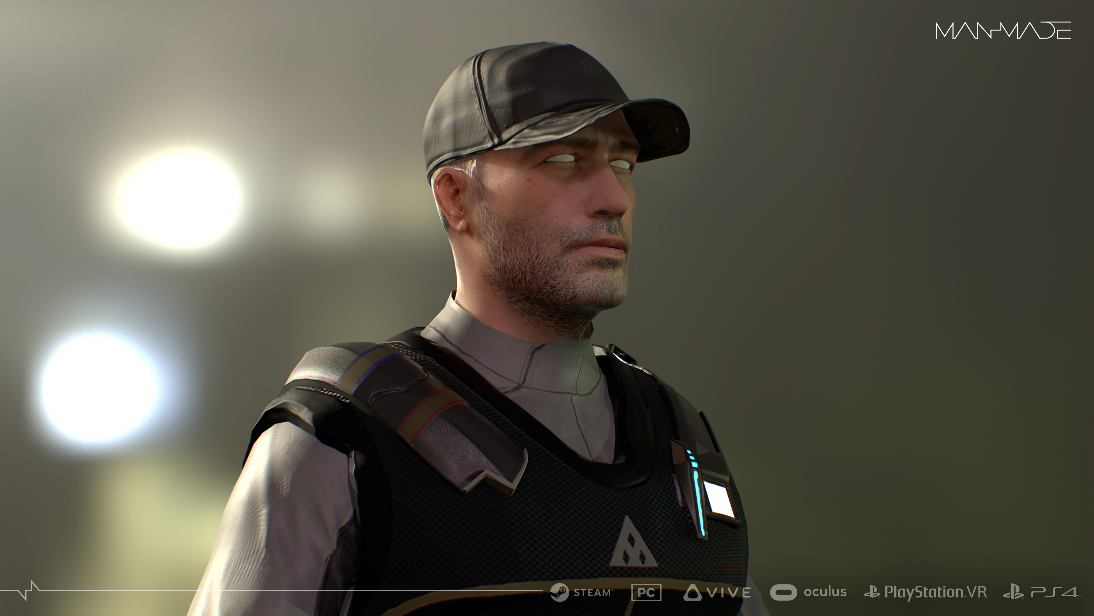 Security2 Marmoset Render for Materials and Mood