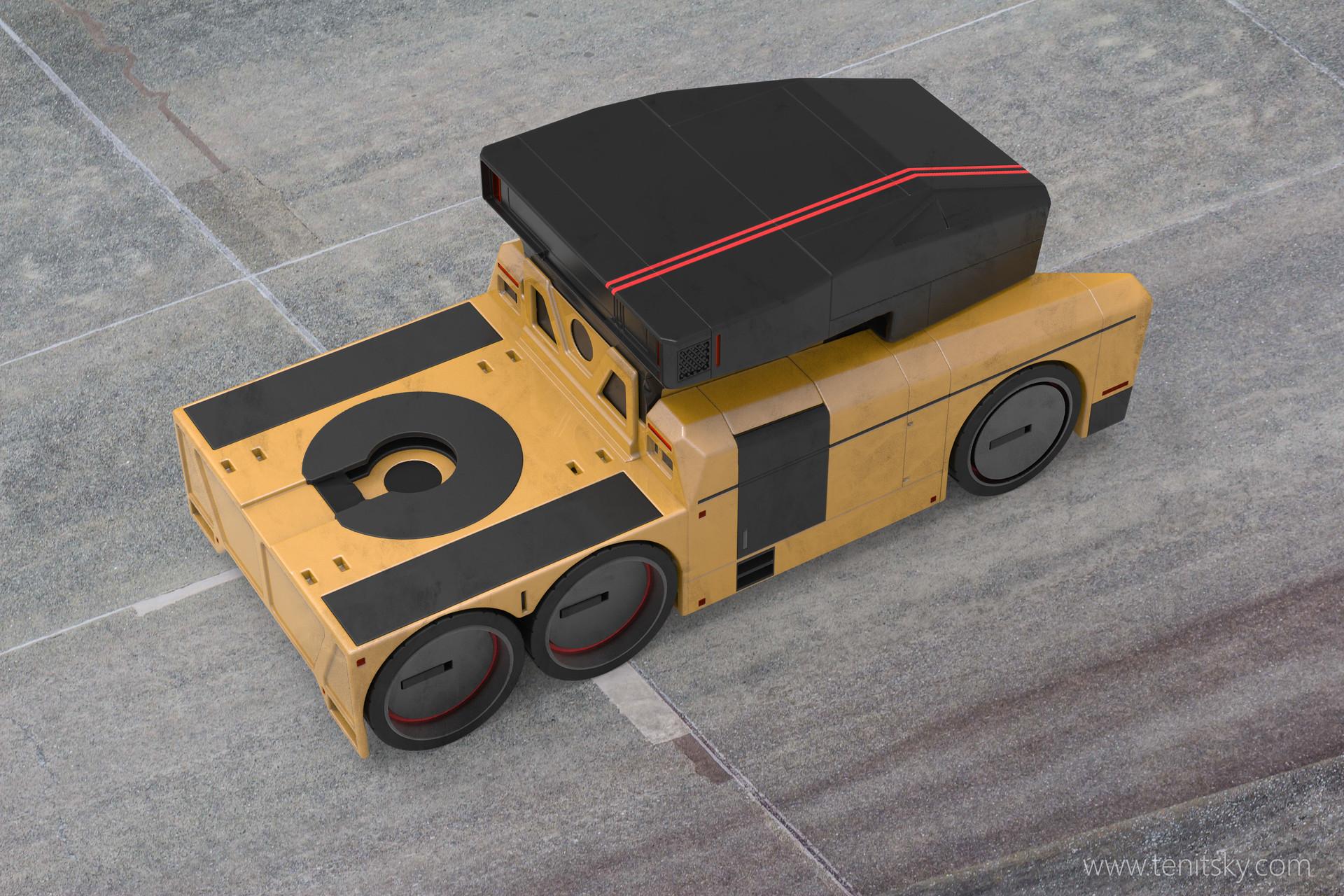 Anton tenitsky truck yellow 002