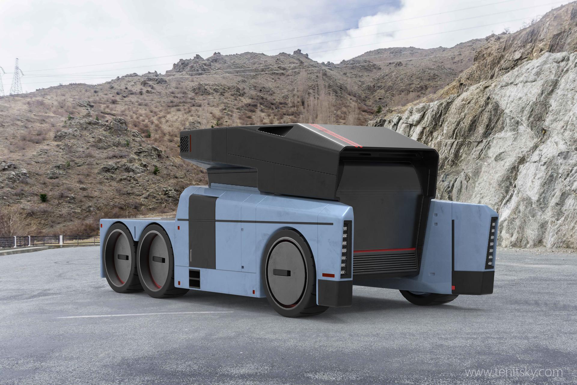 Anton tenitsky truck blue 001