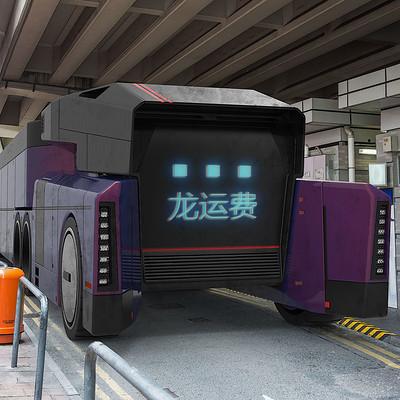 Anton tenitsky truck purple