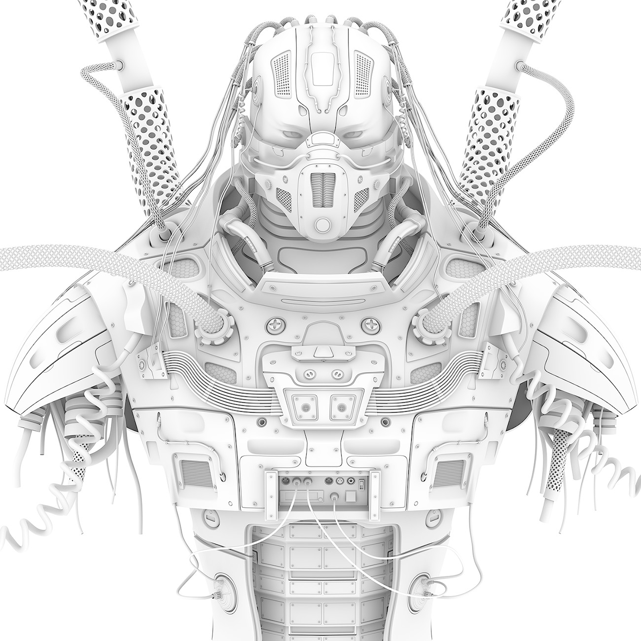 RoboPredatoroCop - Ambient Occlusion