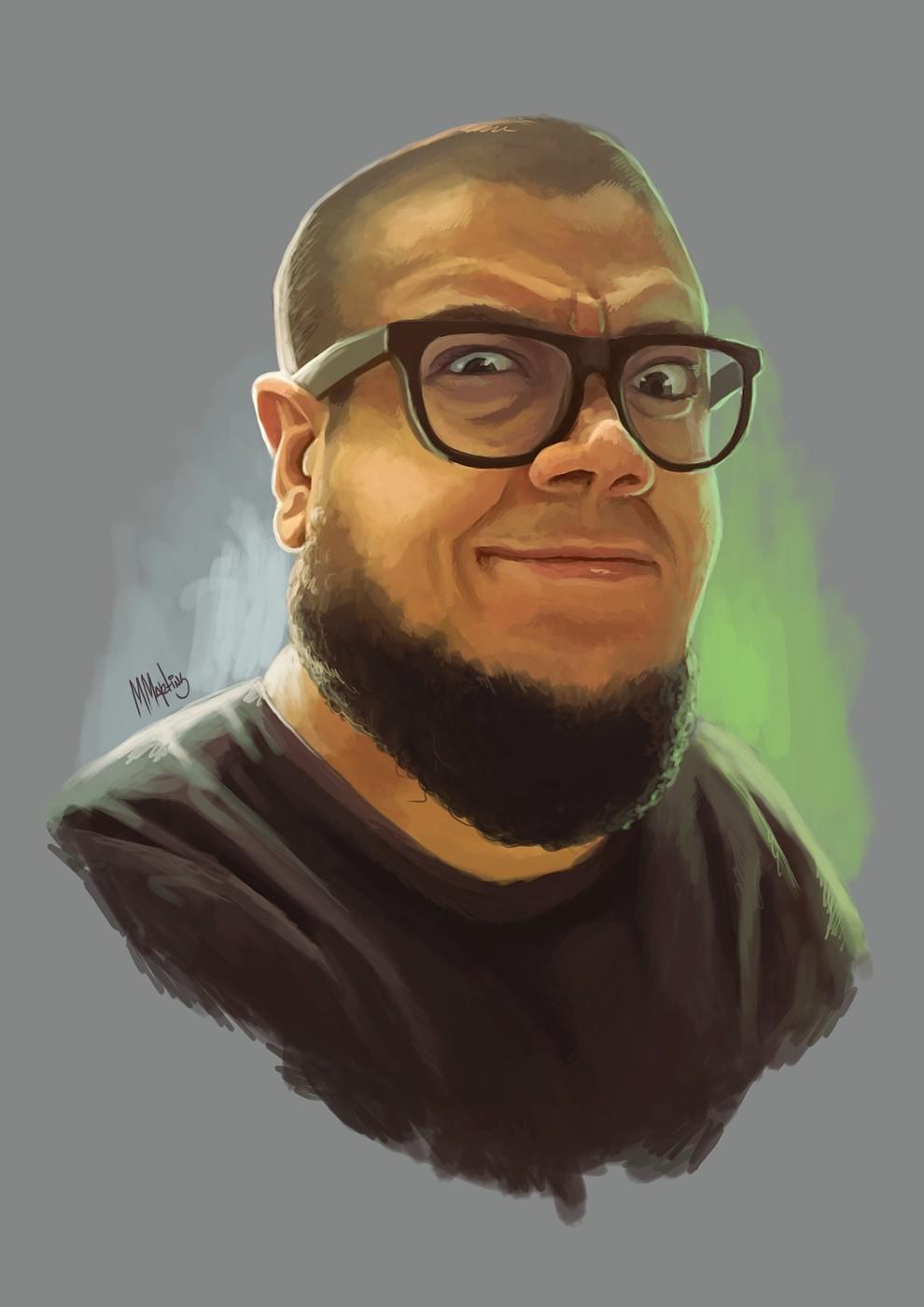 RB Silva, the comic artist.