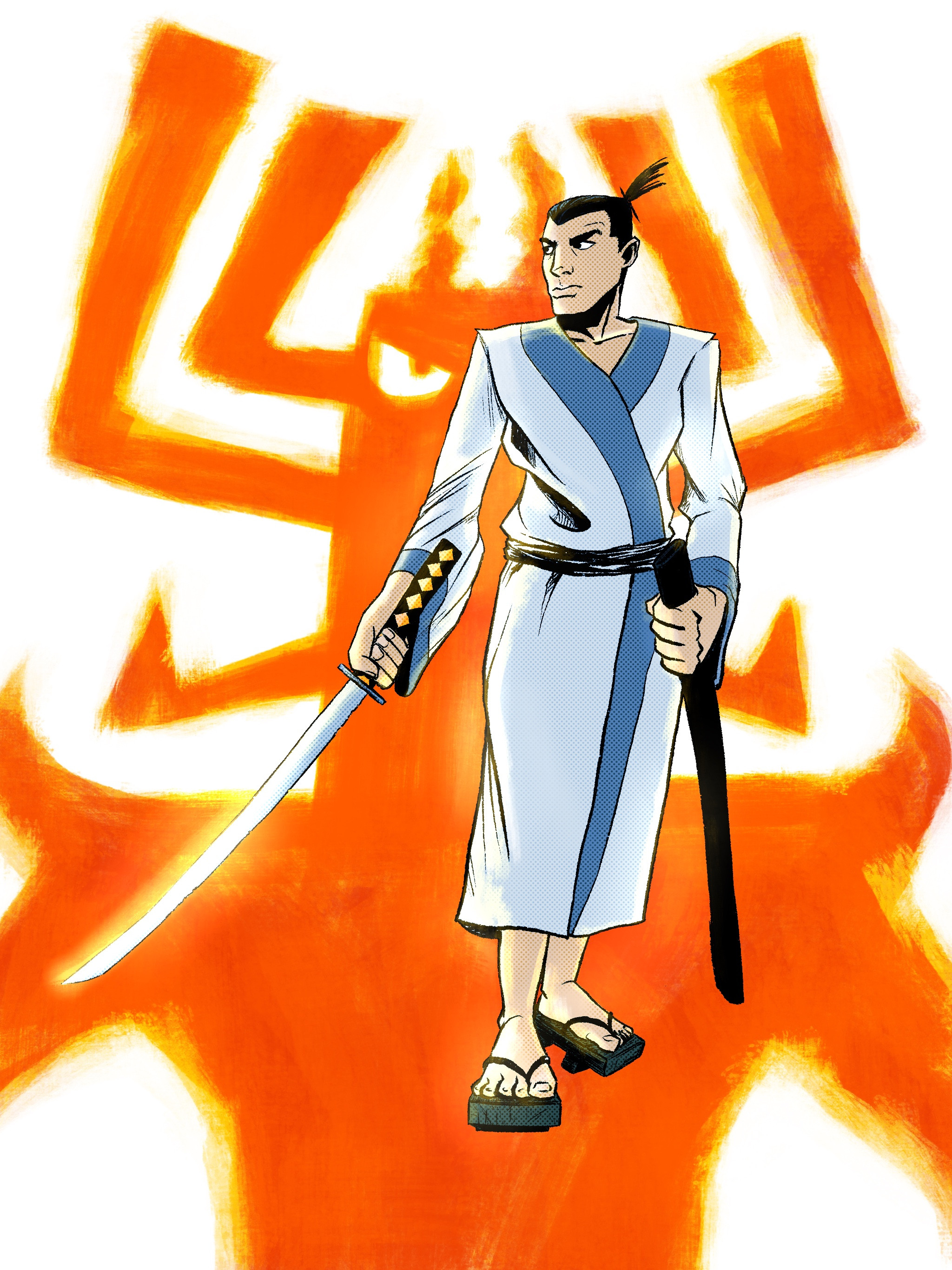 Samurai Jack - Digital in Procreate