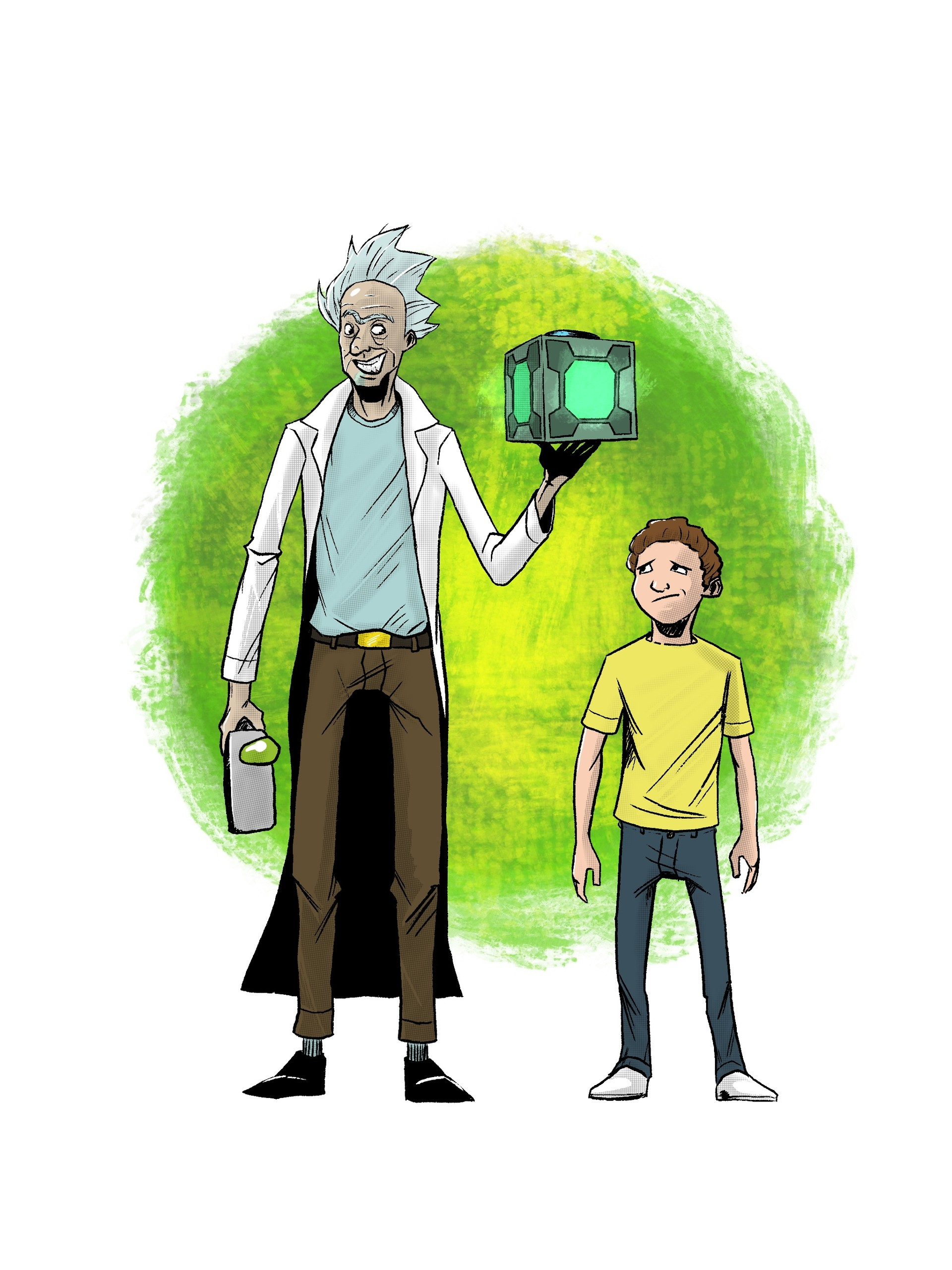 Rick and Morty - Digital in Procreate