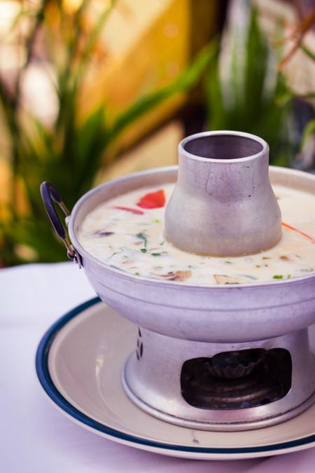 Priscilla firstenberg thailanding on alki tom kha chicken soup