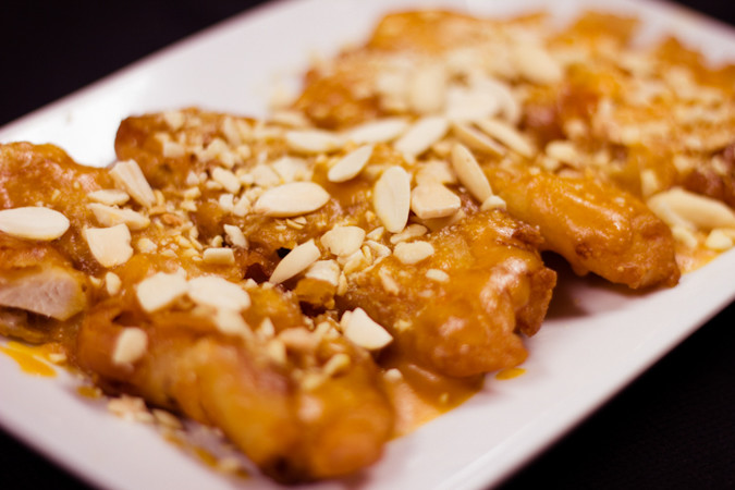 Priscilla firstenberg rickshaw almond fried chicken