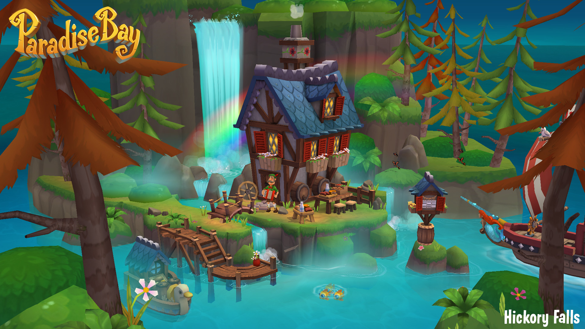 Come visit Hickory Falls! (Mobile)