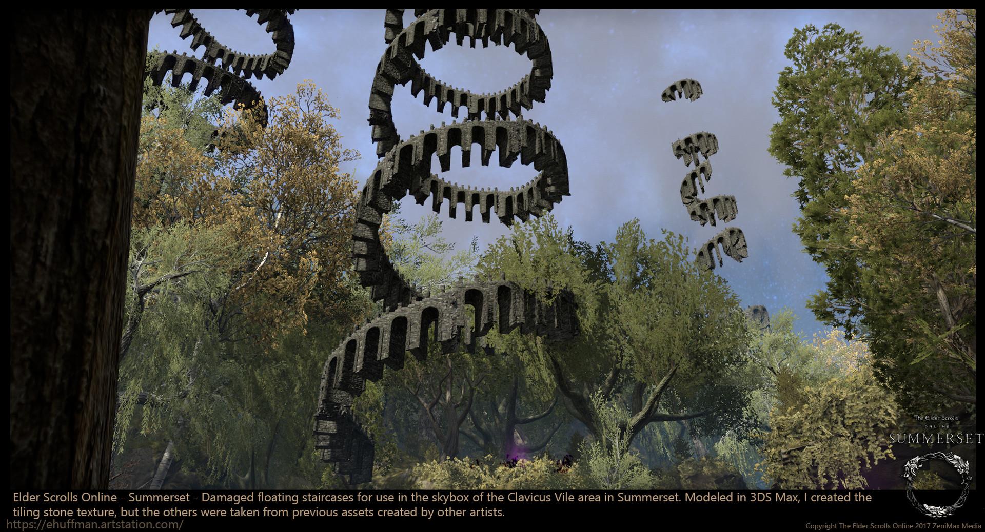 ArtStation - The Elder Scrolls Online - Summerset, Emily Huffman
