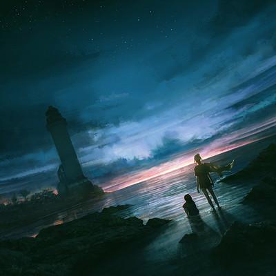 Vincenzo lamolinara a lighthouse