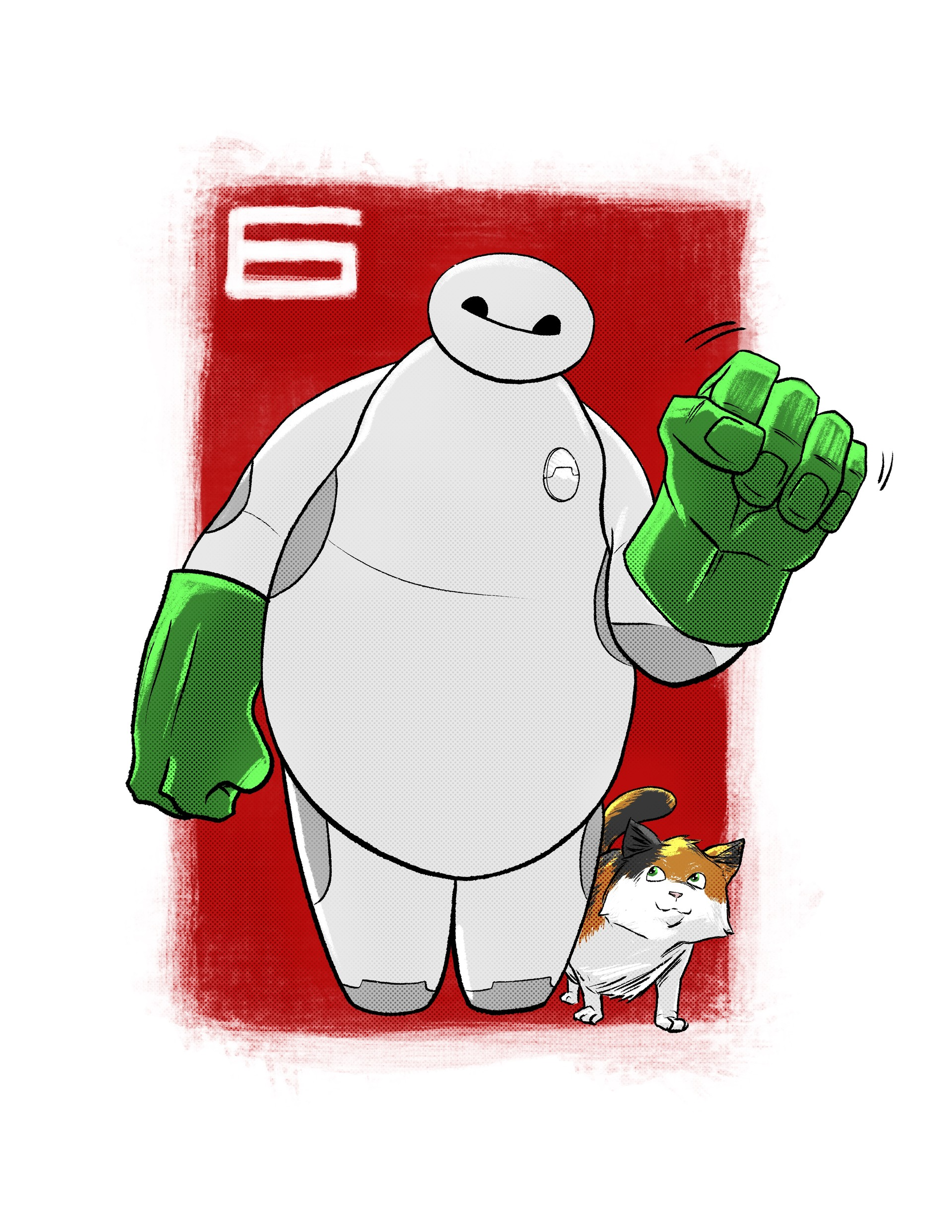 Randy haldeman baymax final