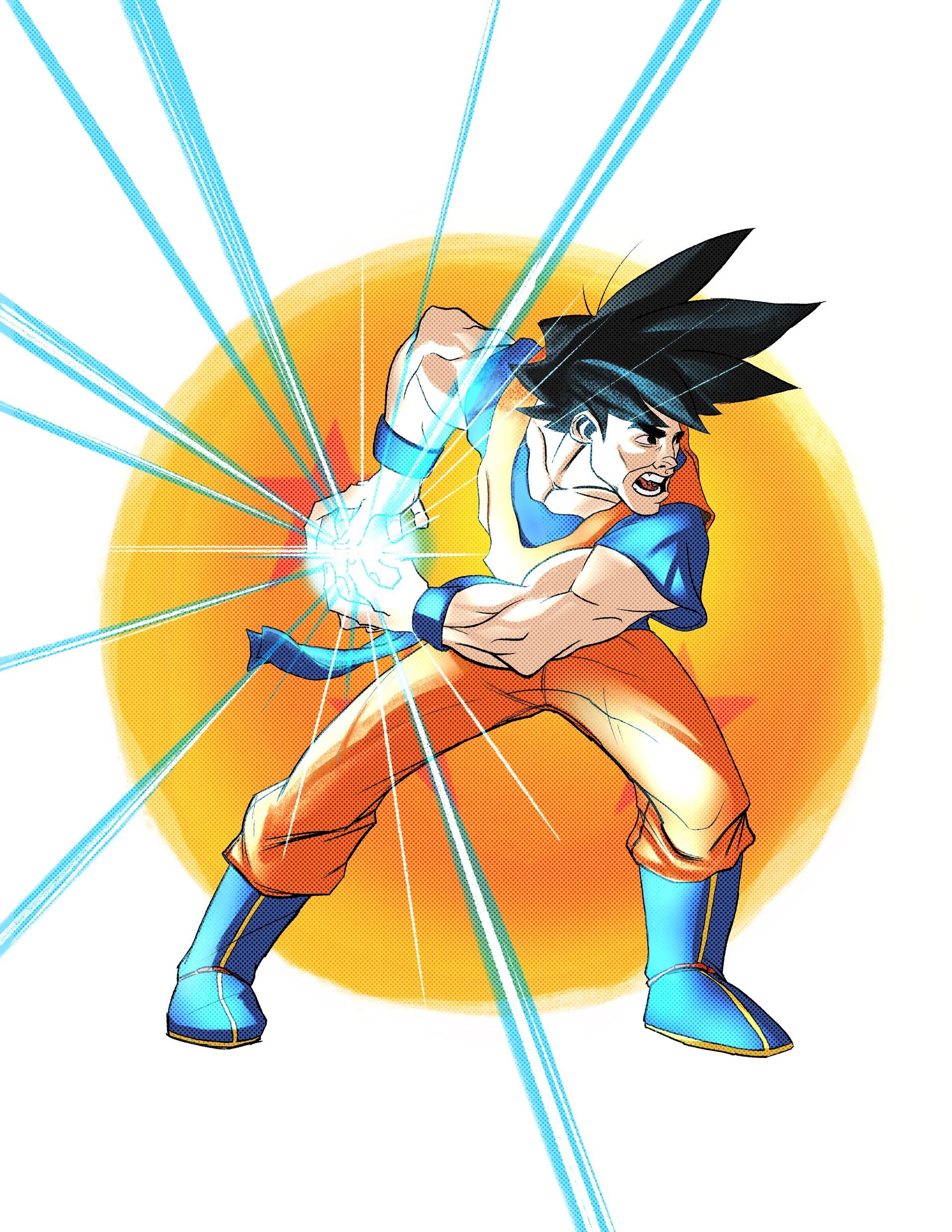 Goku - Digital in Procreate