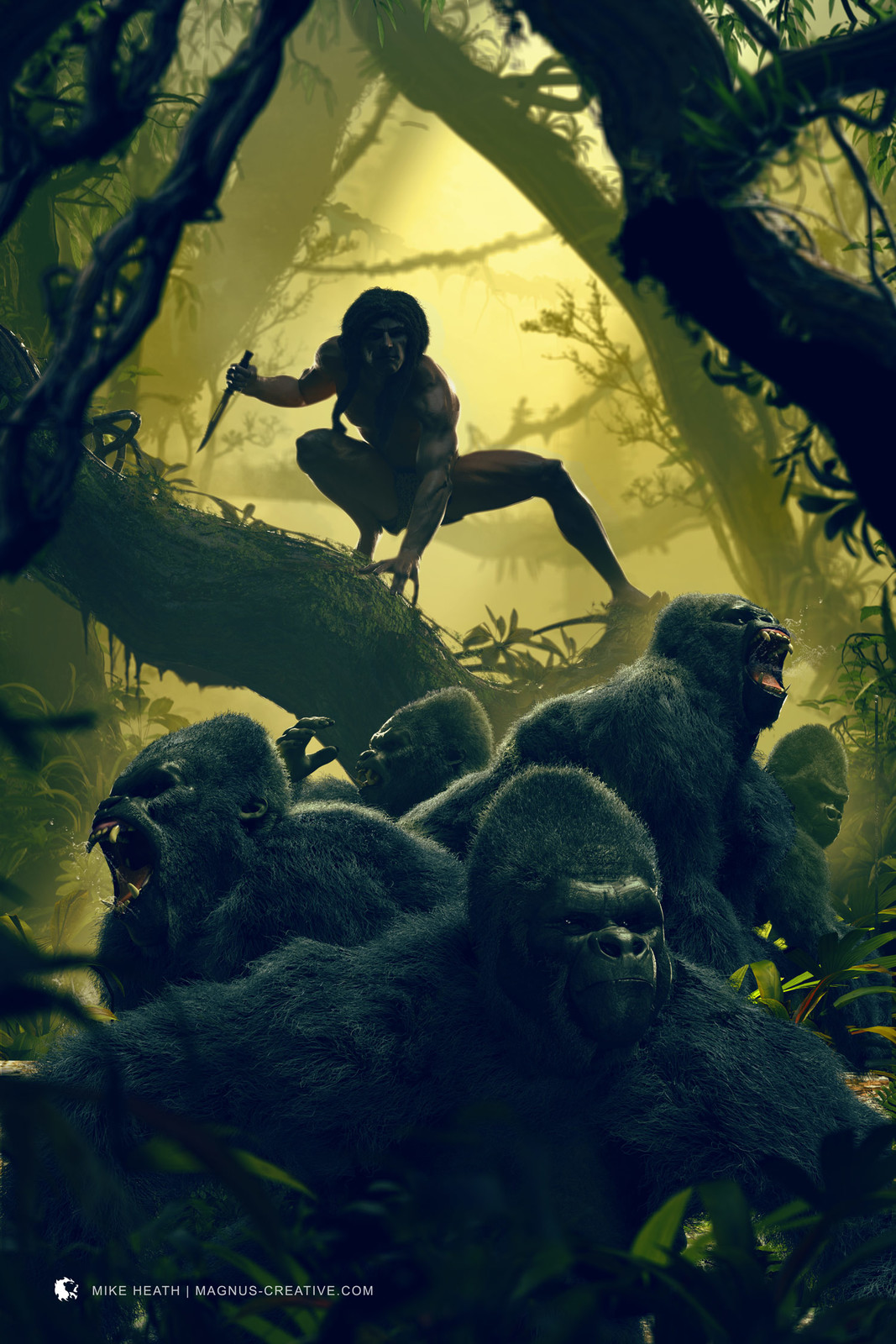 Tarzan - King Of The Apes