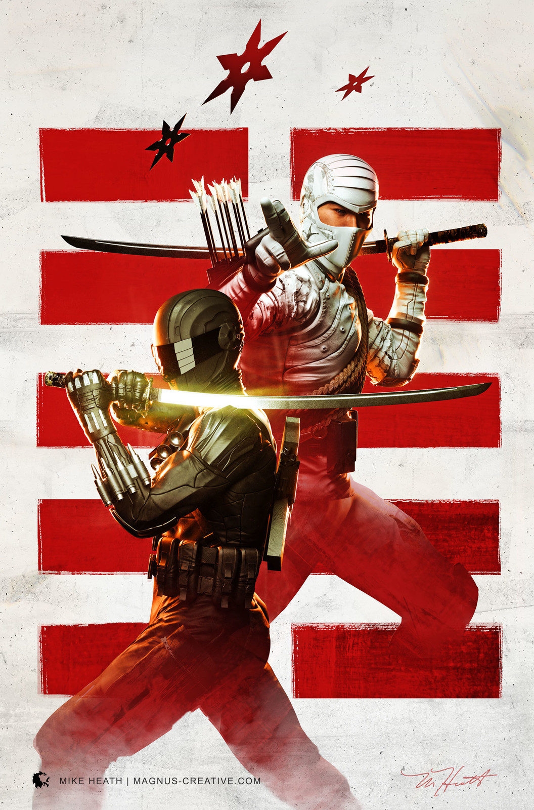 Water & Fire - Snake Eyes Storm Shadow