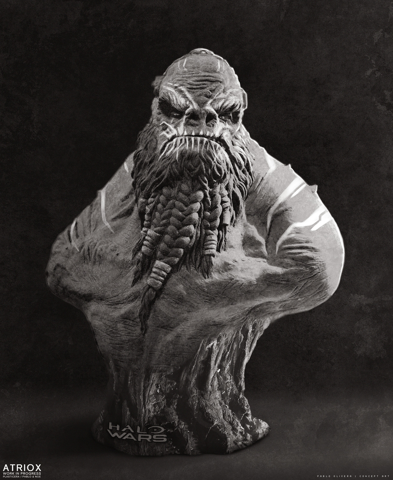 Atriox - sculpture