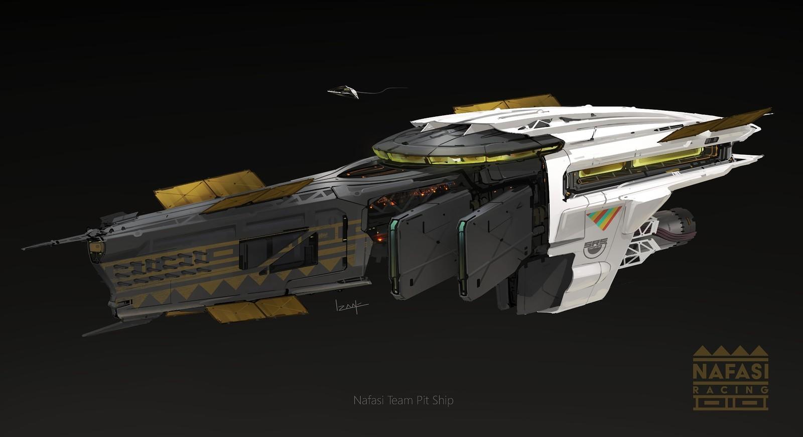 Team Nafasi Pit Ship