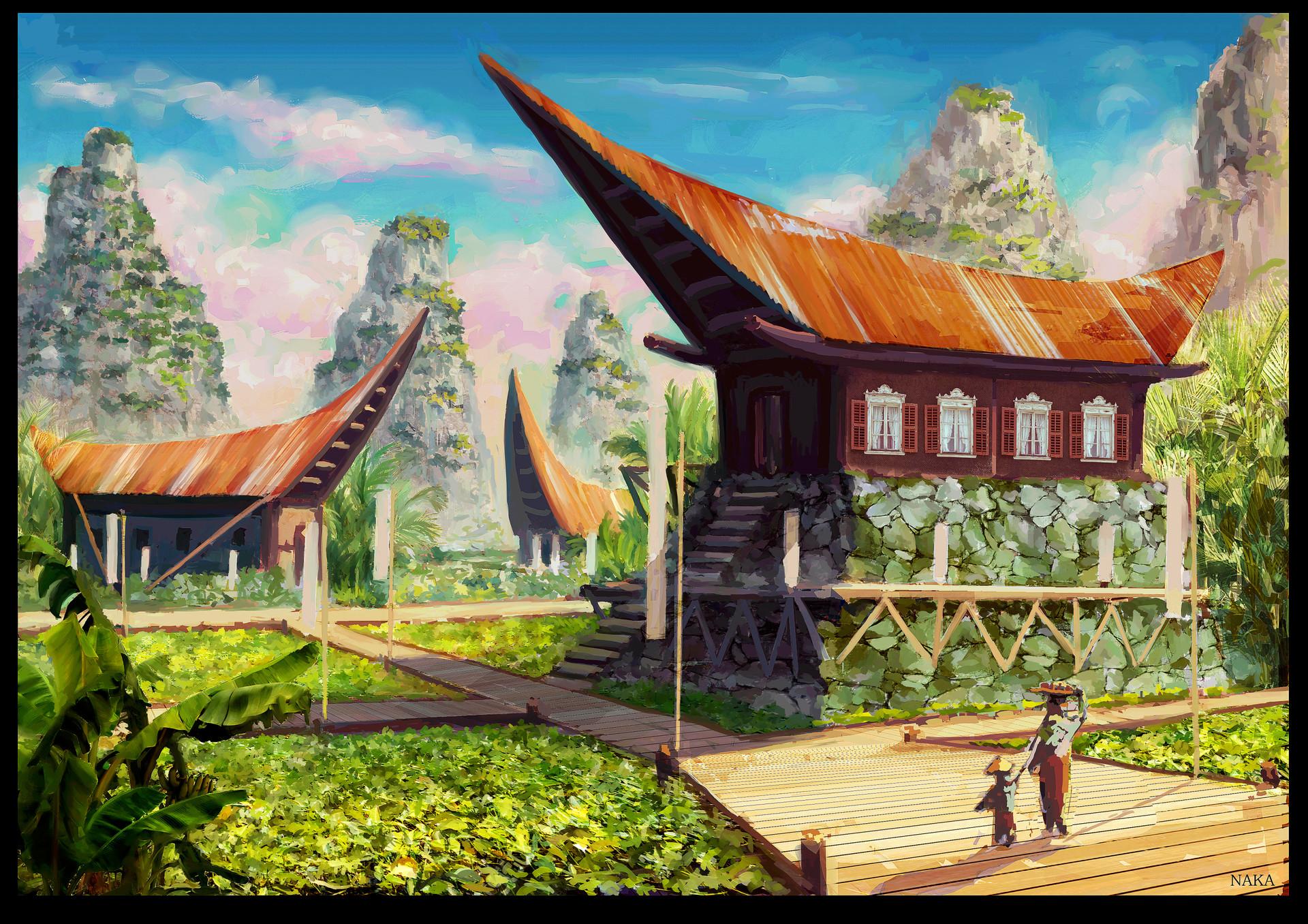Naka isurita naka talenttree village