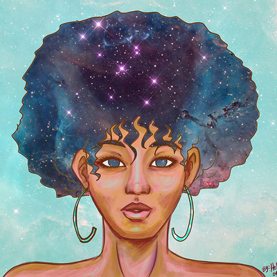 Helsic yiverus astro afro by helsic db4mii9