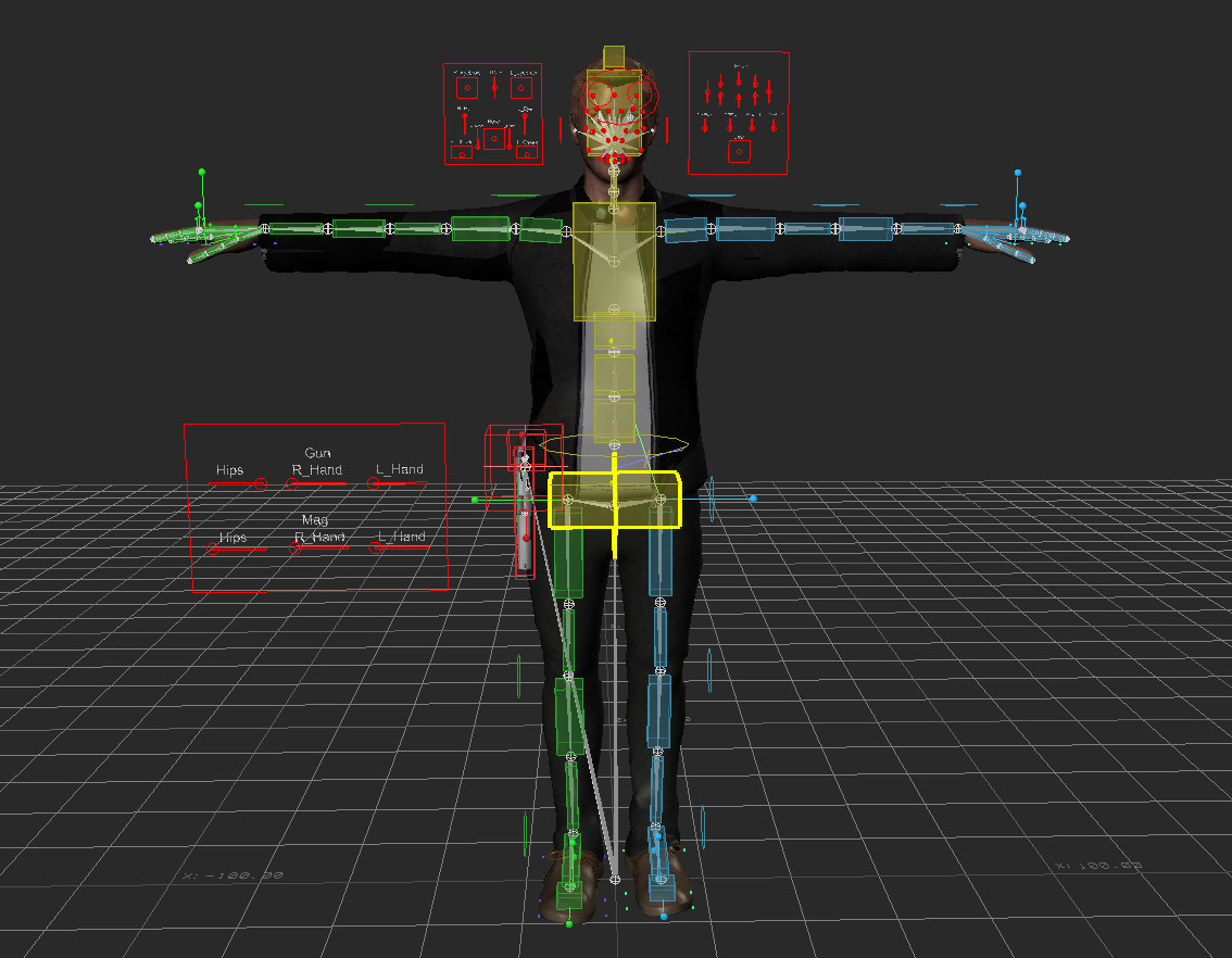 Artstation wip riggin and mocap for 3rd person shooter marc idle walk cycle run cycle and jump integrated to the animation blueprint in unreal malvernweather Gallery