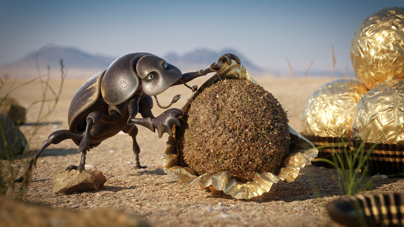 Adwin - The African Dung Beetle and his Obsession