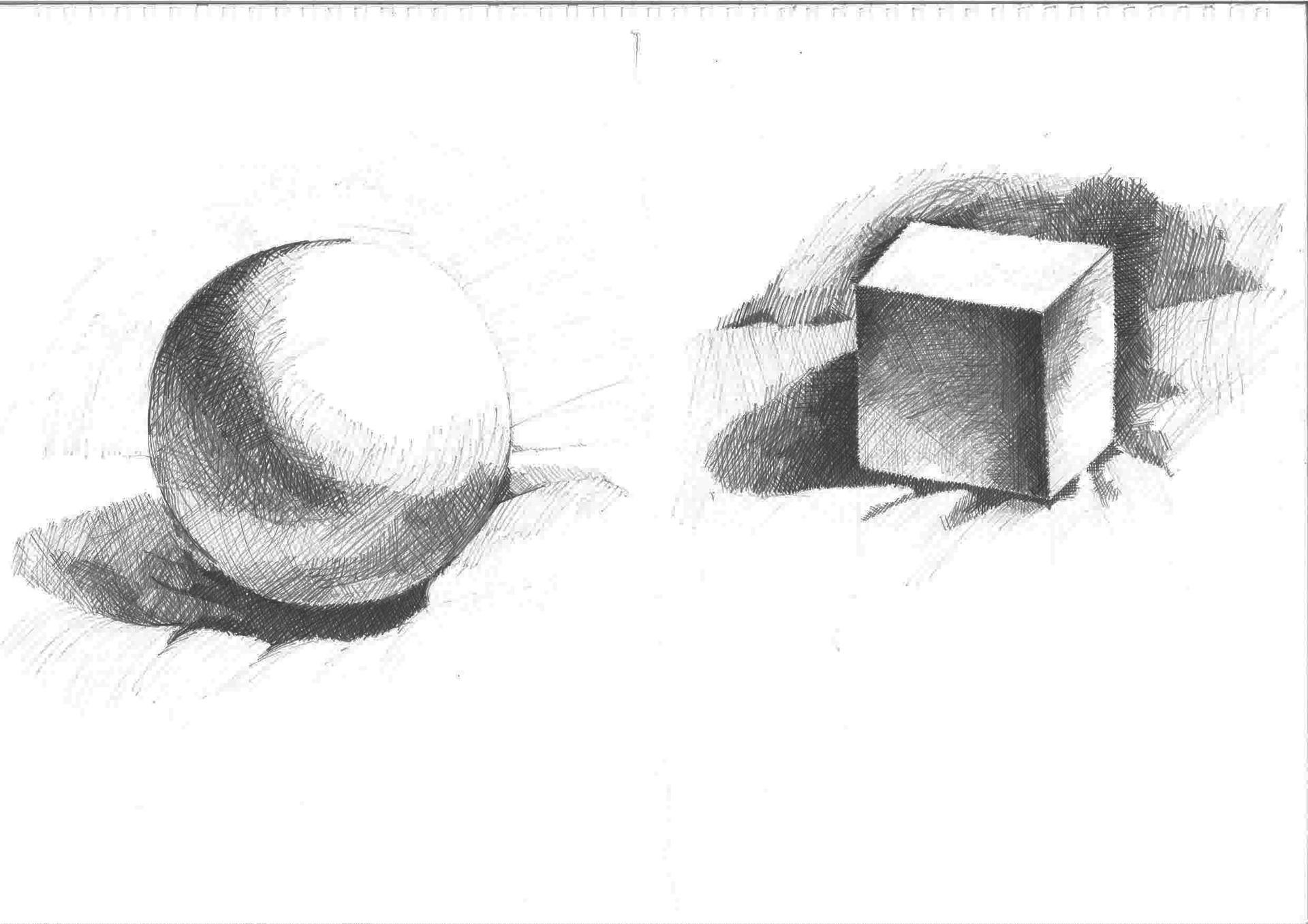 artstation shape drawings haikal hamzah