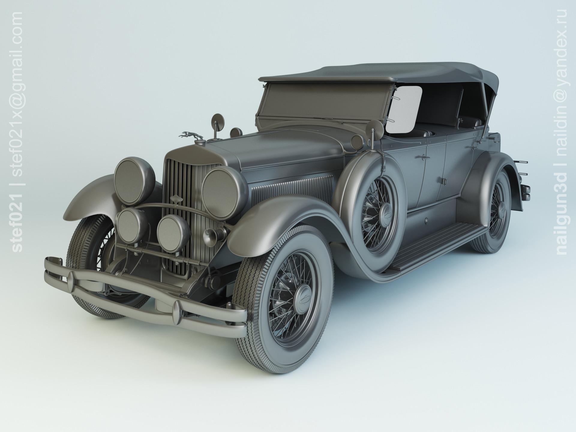 Nail khusnutdinov a0012 000 lincoln molel l 1930 modelling 0