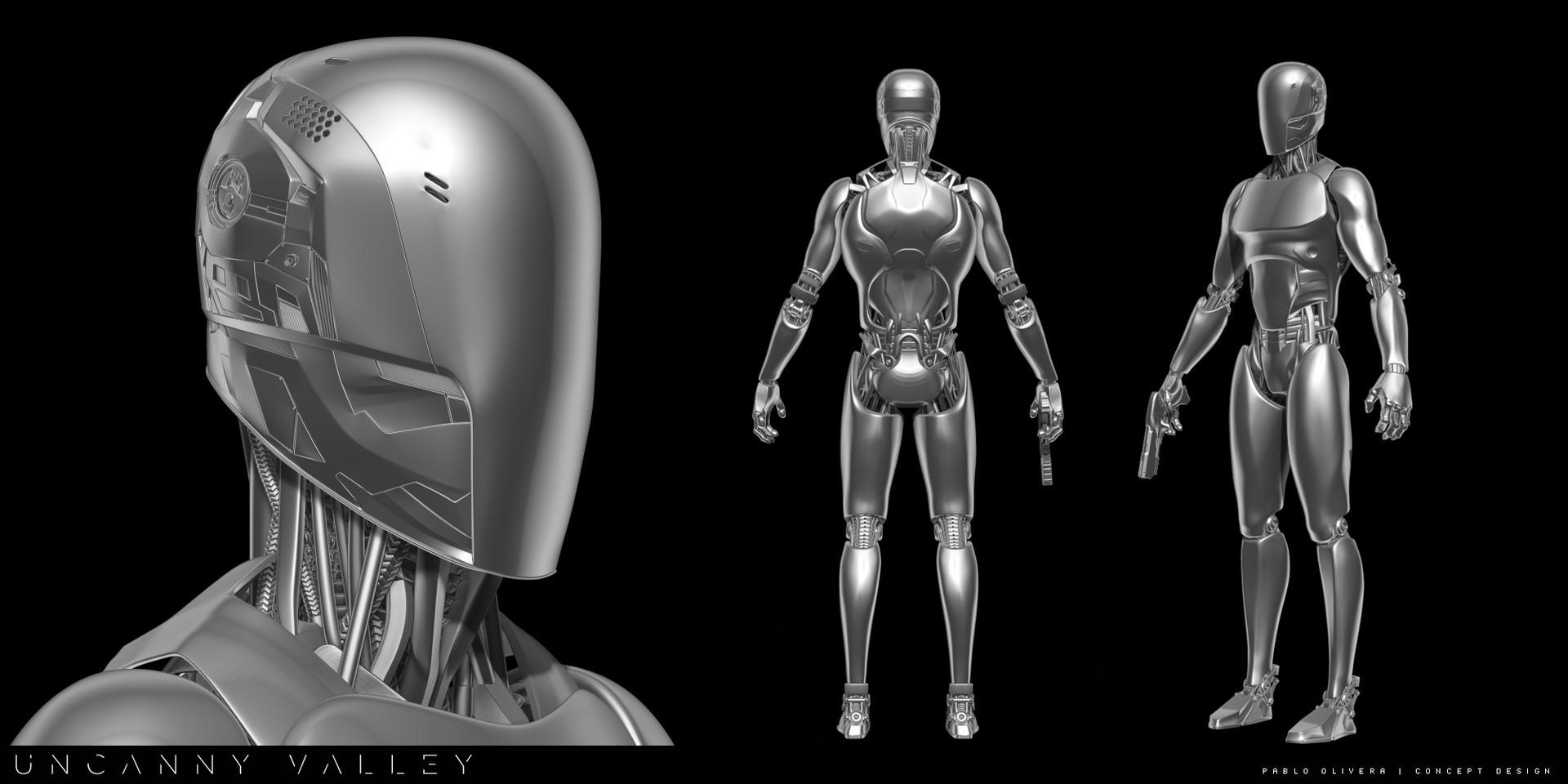Pablo olivera pablo olivera uncanny valley character design robot detalle2