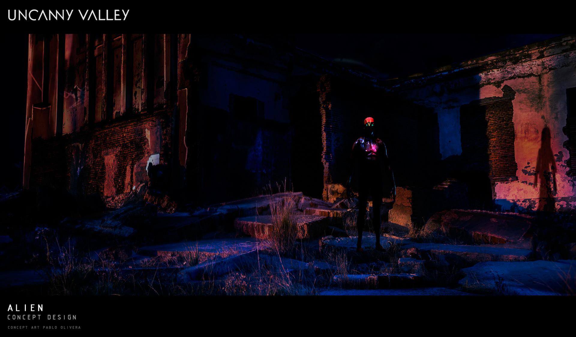 Pablo olivera uncanny valley planeta alien 12