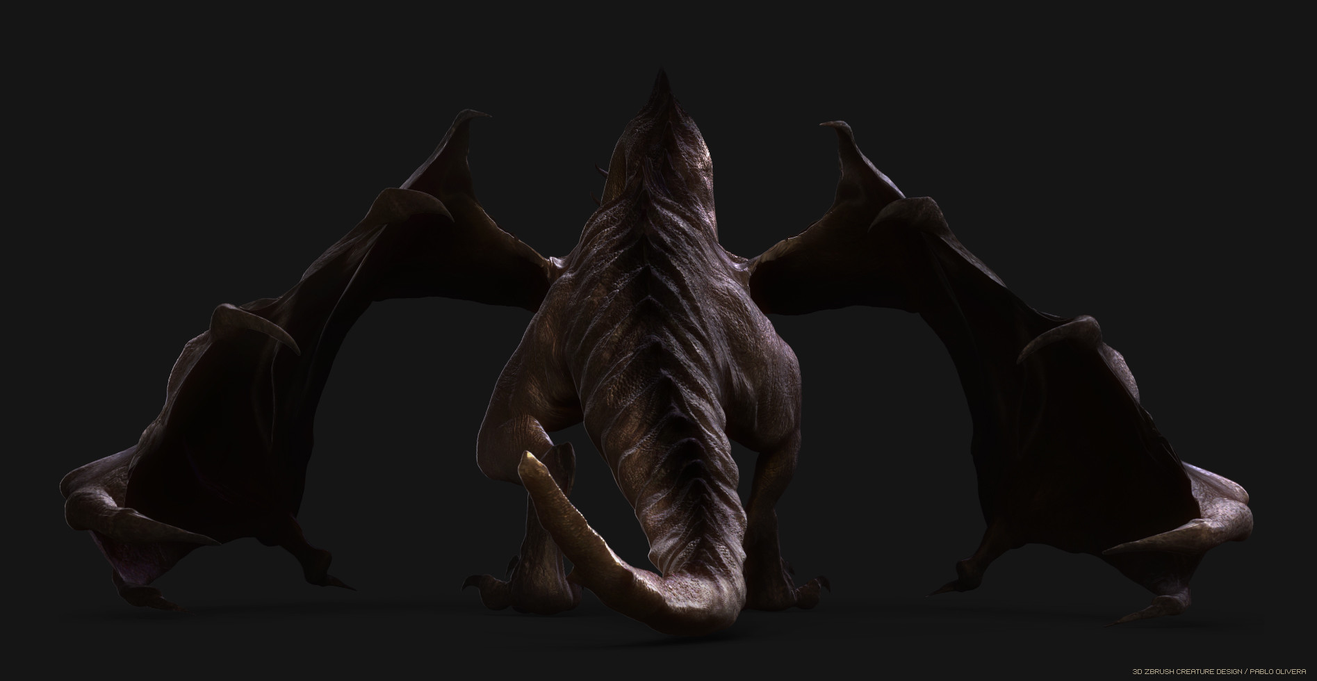 Pablo olivera dragon zbrush pablo olivera render 360 02