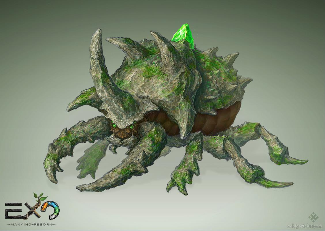 Xabi gaztelua titan beetle web
