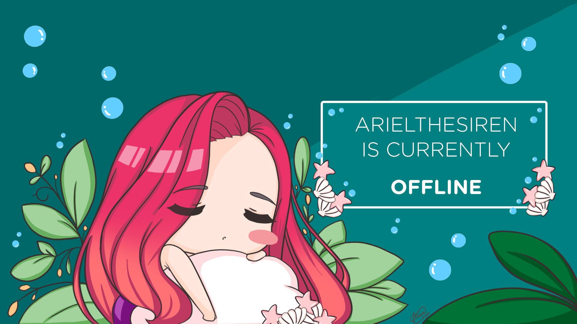 Artstation Twitch Offline Banner Alicia Wu Liang