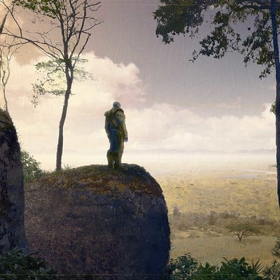 Sean hargreaves thanos overlooking savanna recovered 3