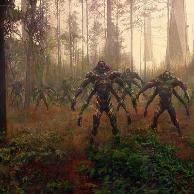 Sean hargreaves wakanda forest attack