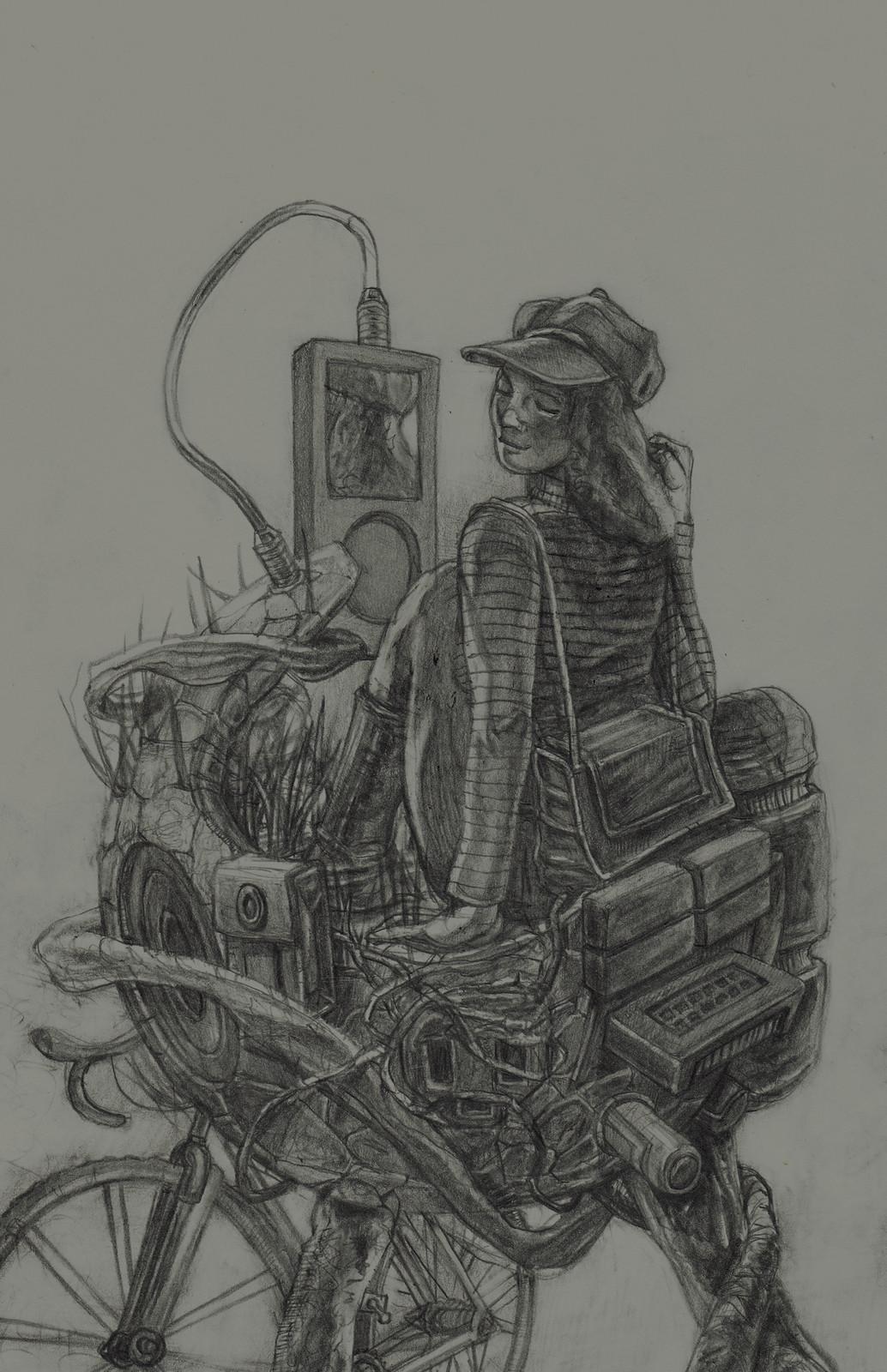 Sally Surreal #2—Concept Sketch