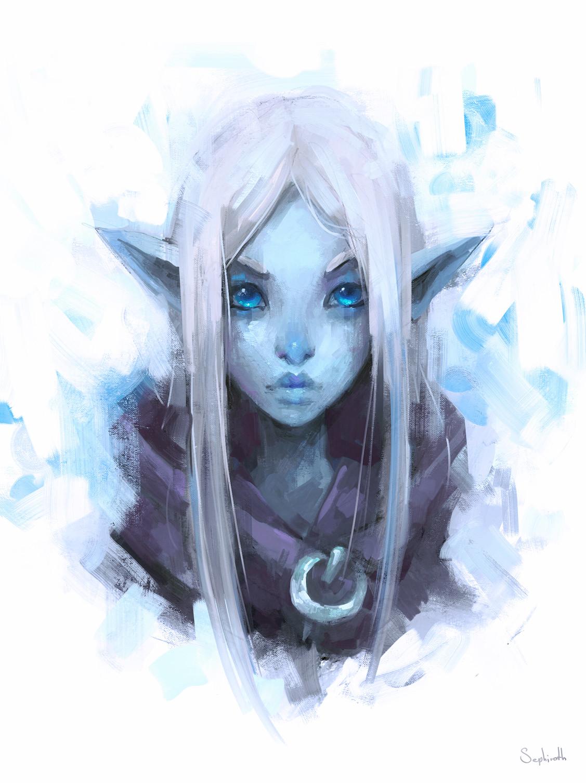Sephiroth art ice
