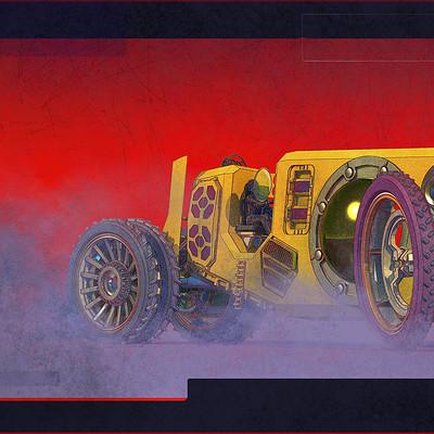 Sean hargreaves desert car final flat